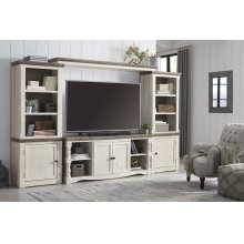 Havalance - Two-tone 4 Piece Entertainment Set
