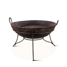 Handicraft Medium Iron Fire Pit with Stand