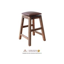 """24"""" Swivel Stool - with Faux Leather seat"""