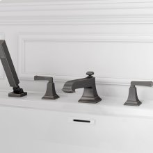 Town Square S Roman Tub Faucet with Personal Shower  American Standard - Legacy Bronze