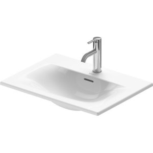 Viu Vanity Basin 2 Faucet Holes Pre-marked With Large Distance Between Faucets