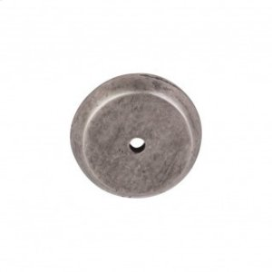 Aspen Round Backplate 1 1/4 Inch - Silicon Bronze Light Product Image