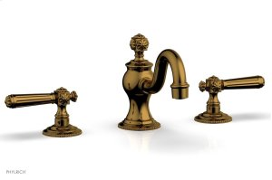 MARVELLE Widespread Faucet lever Handles 162-02 - French Brass Product Image