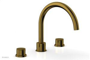 BASIC II Deck Tub Set 230-40 - French Brass Product Image