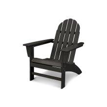 Black Vineyard Adirondack Chair