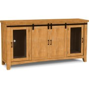 Hannah Barn Door Entertainment Center Product Image
