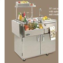 """Vintage Bartending Centers - 30"""" Cart Model"""