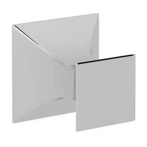 Polished Chrome Vincent Wall Mount Single Robe Hook Product Image