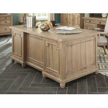 Florence Rustic Executive Desk