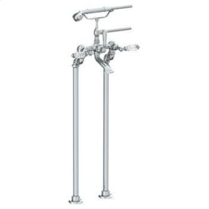 Floor Standing Bath Set With Hand Shower Product Image