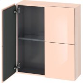 Semi-tall Cabinet, Apricot Pearl High Gloss (lacquer)