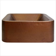 Large Square Double Wall Vessel