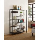 Modern Black Metal Bookcase Product Image