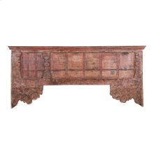 Antique Wood Console Table Ue2