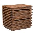 Linea End Table Walnut Product Image