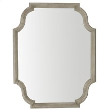 Marquesa Mirror in Gray Cashmere (359)