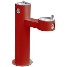 Elkay Outdoor Fountain Bi-Level Pedestal Non-Filtered, Non-Refrigerated Red