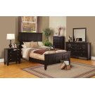 Sandy Beach Cappuccino Queen Bed Product Image