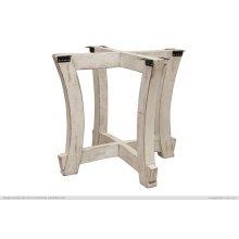 Table Base Ivory Finish