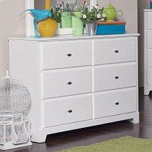 Ashton Transitional White Dresser