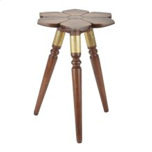 """WD FLWR ACCENT TABLE 18""""W, 22""""H"""