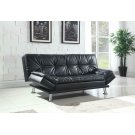 Dilleston Contemporary Black Sofa Bed Product Image