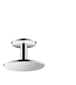 Chrome Overhead shower 250 1jet with ceiling connection Product Image