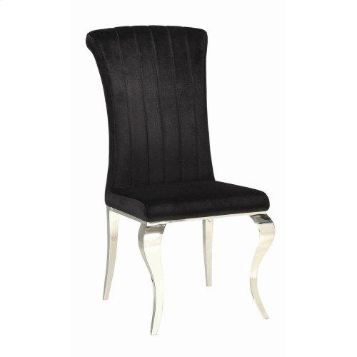 Hollywood Glam Chrome Side Chair