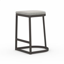 Counter Stool Size Faye Ash Cover Val Outdoor Bar + Counter Stool, Washed Brown