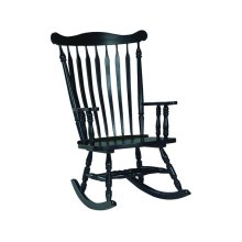 Colonial Rocker in Antique Black