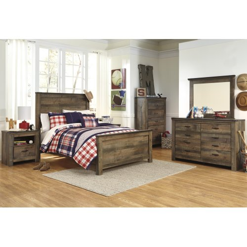 Trinell - Brown 3 Piece Bed Set (Full)