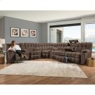 Reclining Sofa w/Drop Down Table, Lights & Cupholder Product Image