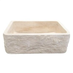 """McKinley Single Bowl Marble Farmer Sink - 24"""" Product Image"""