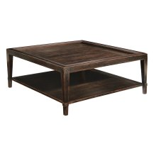 Vintage Patina Square Cocktail Table