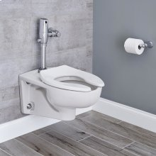 Afwall 1.1 GPF with Selectronic Flush Valve - White