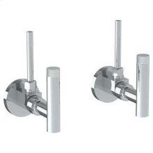 Lavatory Angle Stop Kit -1/2 Ips X 3/8 Od Compression