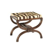 Striped Delight Accent Table