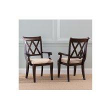 Thatcher X Back Arm Chair