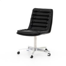 Rider Black Cover Malibu Desk Chair