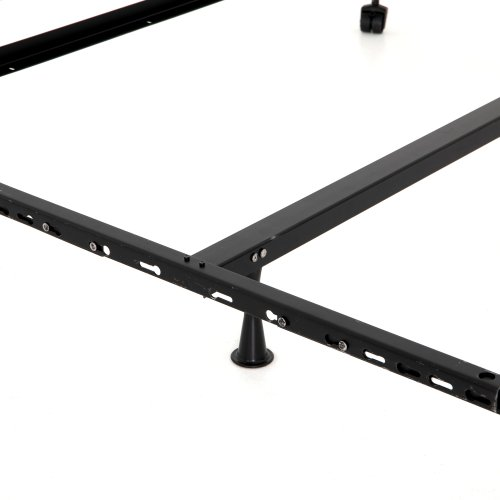 Universal Metal Bed Frame-black