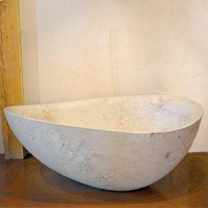 One of A Kind Bathtubs Papillon / Rosalia Marble Product Image