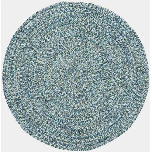 Sea Glass Ocean Blue Braided Rugs (Custom)