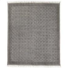 9'x12' Size Flatweave Faded Print Rug