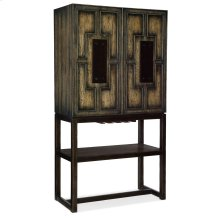Dining Room Crafted Bar Cabinet