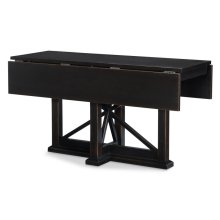 Everyday Dining by Rachael Ray Drop Leaf Console Table - Peppercorn