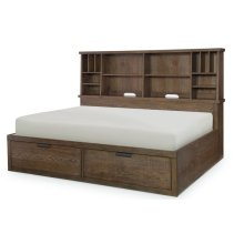 Fulton County Bookcase Lounge Bed, Full 4/6