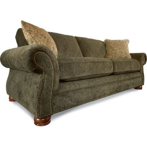 Pembroke Sofa w/ Brass Nail Head Trim