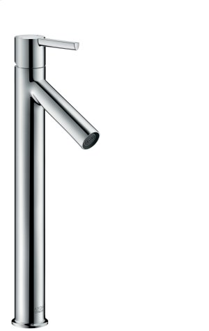 Chrome Single lever basin mixer 250 with lever handle for washbowls with waste set Product Image