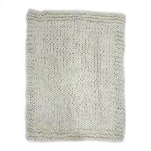 Abuela Wool Throw Natural
