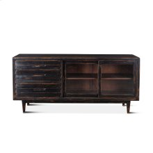 "Library Sideboard 72"" Antique Black"